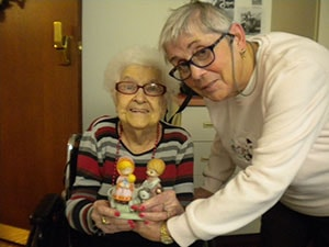 Homebound Member Visited by Trinity UCC Congregational Care Team Member