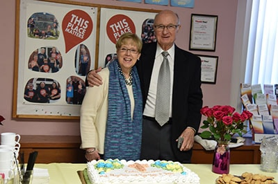 Pastor Suzanne Adele Schmidt and Spouse Daniel Davis