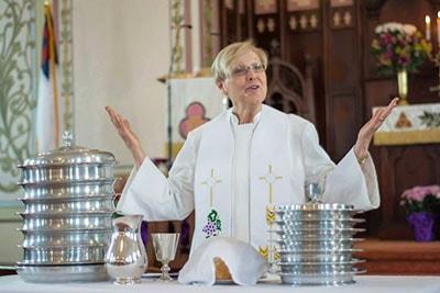 Pastor Suzanne Adele Schmidt, Easter Sunday 2015