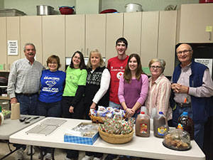 Trinity UCC Members Volunteer at Cold Weather Shelter in Westminster, MD