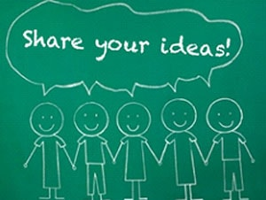Share Your Ideas