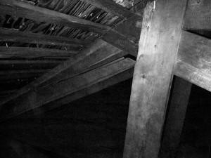 Showing One of the Ceiling Support Trusses that is Cracked